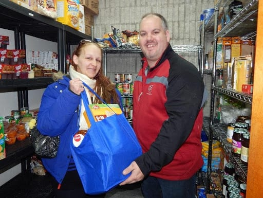 Salvation Army Food Bank Donors